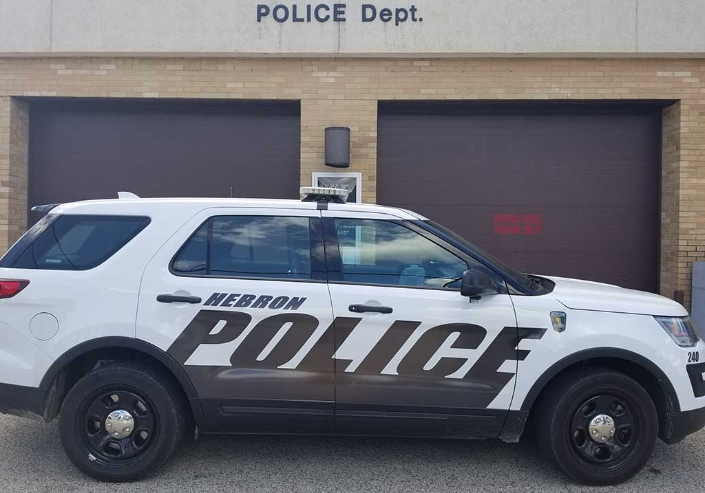Hebron Illinois Police Vehicle