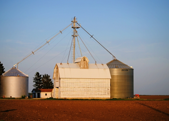 Farm in Hebron Illinois